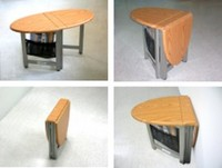 COLLAPSIBLE COFFEE TABLE BEECH